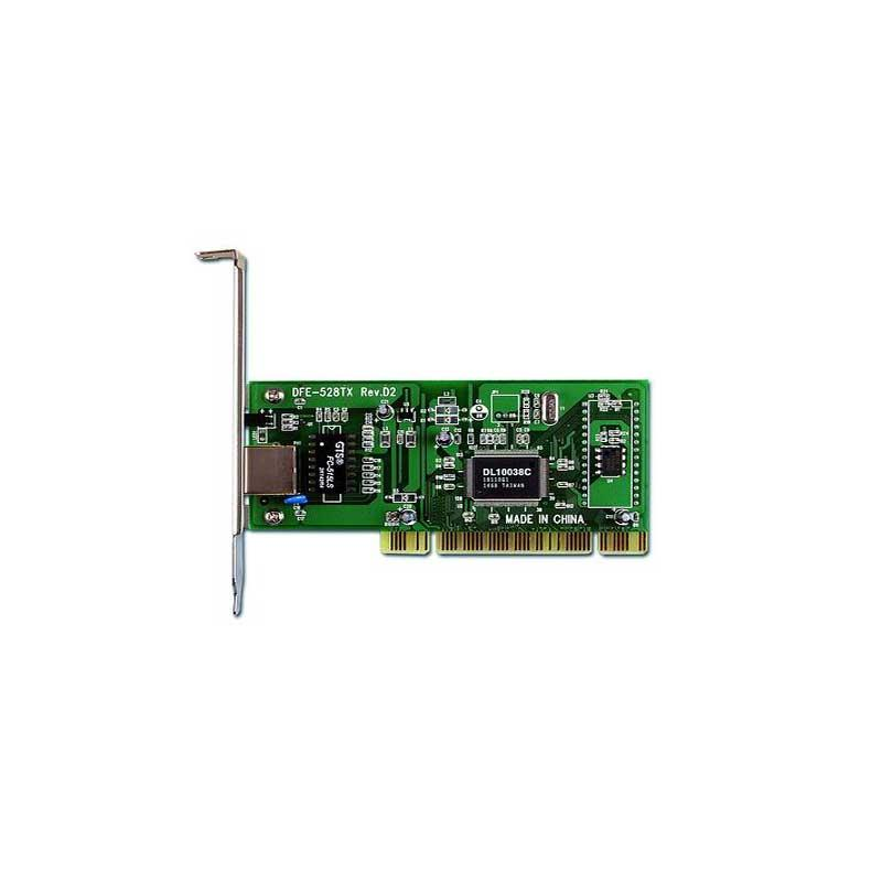 D-Link DFE-528TX PCI Adapter driver per Windows 10 x64
