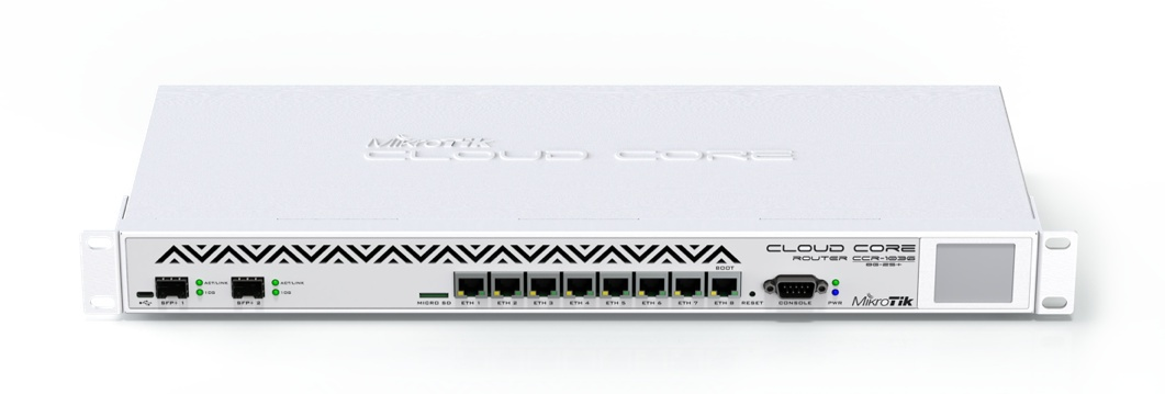 Mikrotik Cloud Router Switch Crs109 8g 1s 2hnd In
