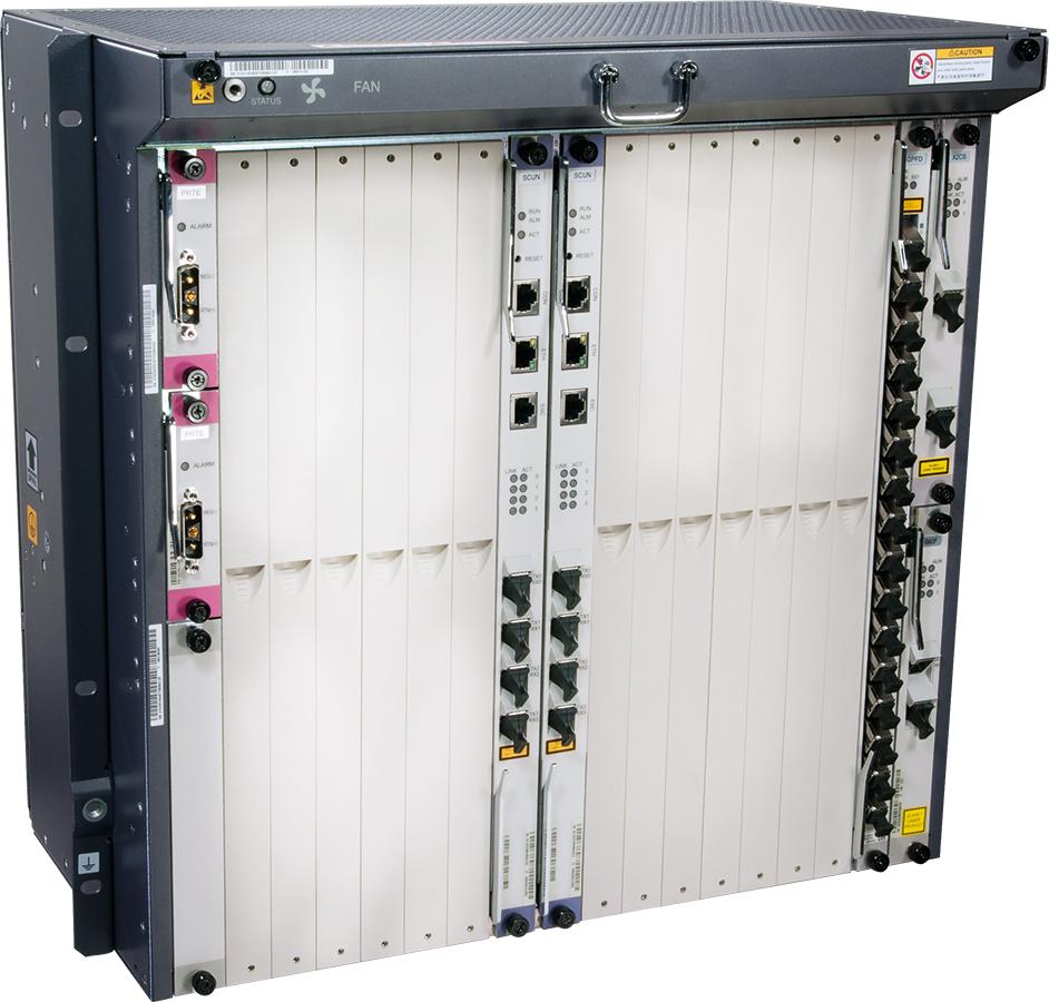 Huawei terminal GPON OLT MA5680T (8x GPON z wkładkami C+, zasilanie DC)
